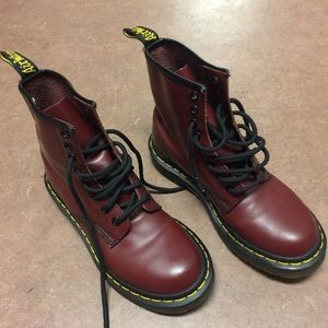 Cherry Red Doc Martens 1460